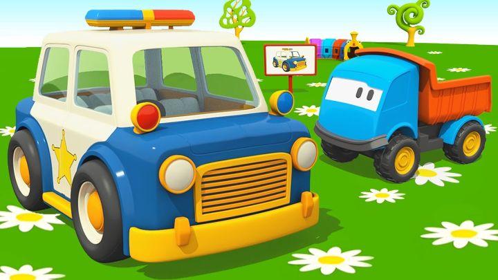 Cartoni Animati Per Bambini Camioncino Leo Jr E La Macchina Del Gelato Youtube